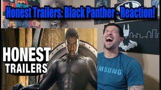 Honest Trailers: Black Panther - Reaction! #ClarkCrewReviews