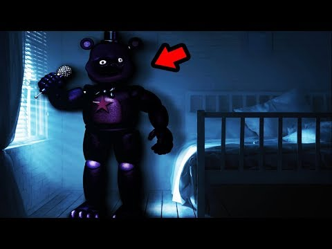 GODRED WAS HIDING IN MY BEDROOM...  || DayShift at Freddy's 3 Foul Ending
