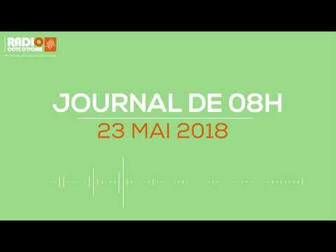 Le journal de 8h du 23 mai 2018 - Radio Côte d'Ivoire