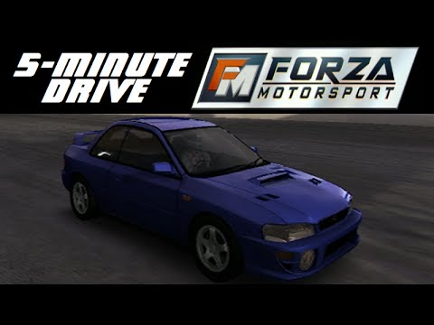 5 minute drive forza motorsport 1999 subaru impreza 2 5rs coupe youtube. Black Bedroom Furniture Sets. Home Design Ideas