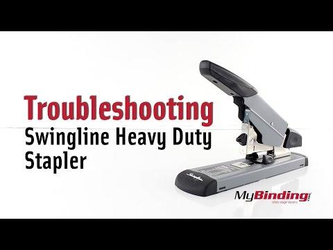 Troubleshooting the Swingline Heavy Duty Stapler - #39005