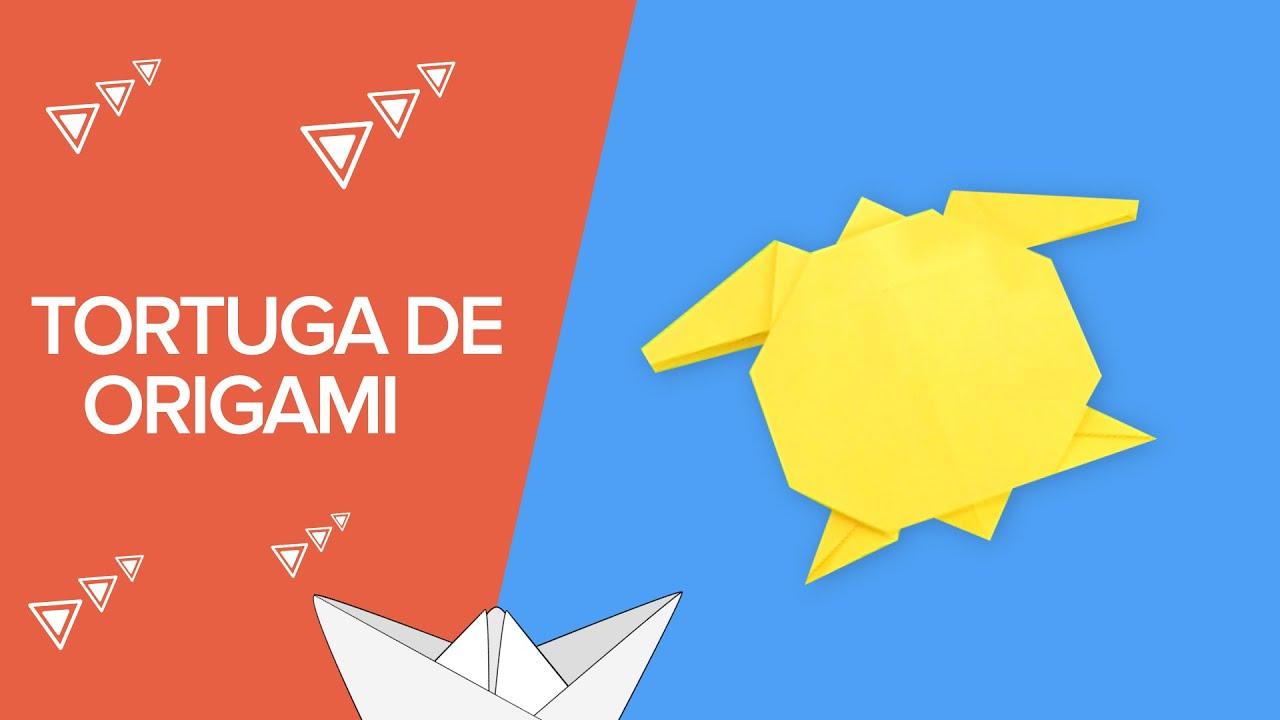 Cómo Hacer Una Tortuga De Origami Paso A Paso Papiroflexia Para Niños