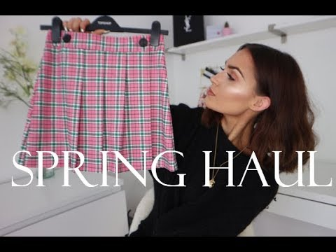 SPRING HAUL & TRY ON 2018 - Topshop, Asos, Missguided, Miss Selfridge, & Other Stories
