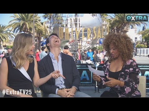 Jerry O'Connell & Rebecca Romijn Test Their Knowledge with 'Extra's' Couples Quiz