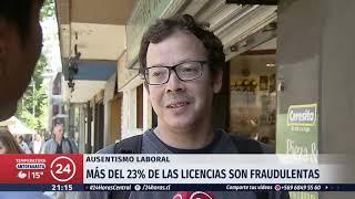 Aumenta el uso de licencias médicas en Chile: Más del 23% de los permisos son fraudulentos