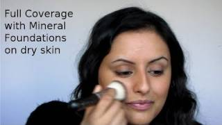 How to: Full coverage foundation using mineral make up for DRY/COMBINATION skin Thumbnail