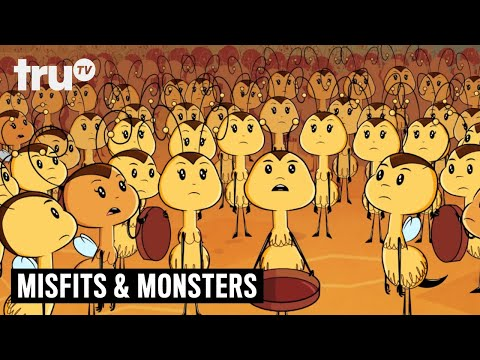 Bobcat Goldthwait's Misfits & Monsters - Escaping the Bee Guillotine | truTV