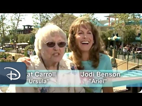 Ariel & Ursula at Disney California Adventure Park  Disneyland Resort