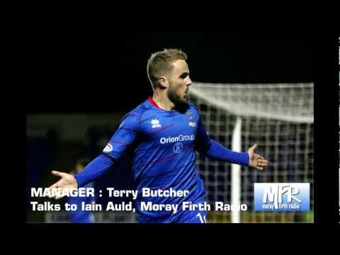 Inverness CT - Terry Butcher - Post Highland Derby Interview 05/10/12
