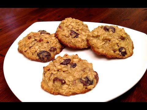 Biscuits à l'Avoine, aux Fruits Séchés et aux Noix (HD)