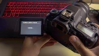 Як оновити/встановити прошивку фотоапарата Canon 80D актуально для всіх Canon EOS Firmware Update