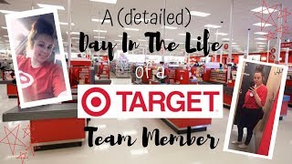 A (DETAILED) DAY IN THE LIFE OF A TARGET TEAM MEMBER - with footage :)