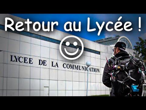 FPV Cinématique   Balade au Lycée de la communication