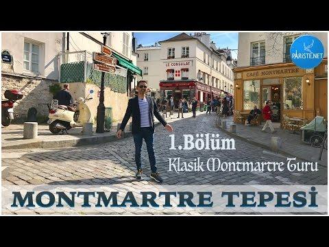 Montmartre Tepesi 1. Bölüm - Klasik Montmartre Turu