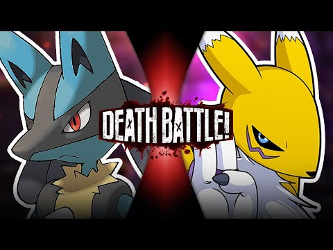 Lucario VS Renamon | DEATH BATTLE!