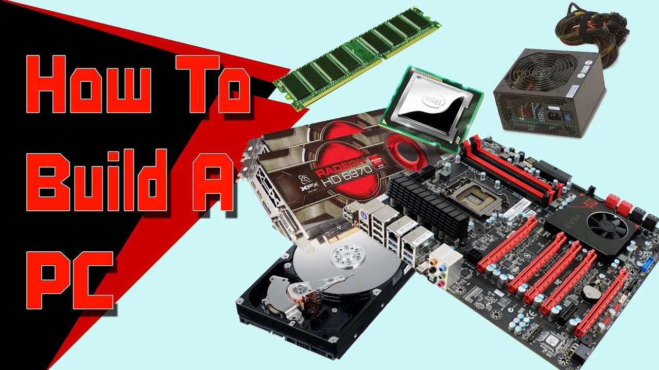 how to build pc youtube
