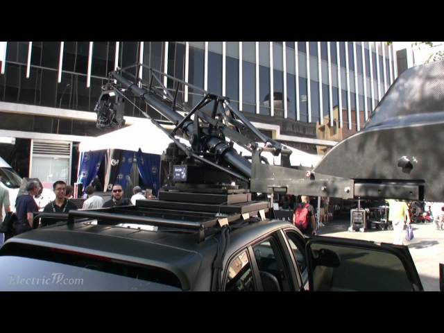 Scorpio Arm: Big, Slick & Blazing fast camera crane for Cars & Trucks demo Travel Video