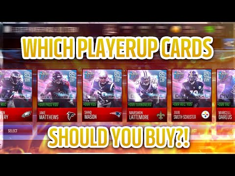 MADDEN MOBILE 18 PLAYERUP BREAKDOWN - INVESTING, COIN MAKING, STAT ANALYSIS, AND MORE!!