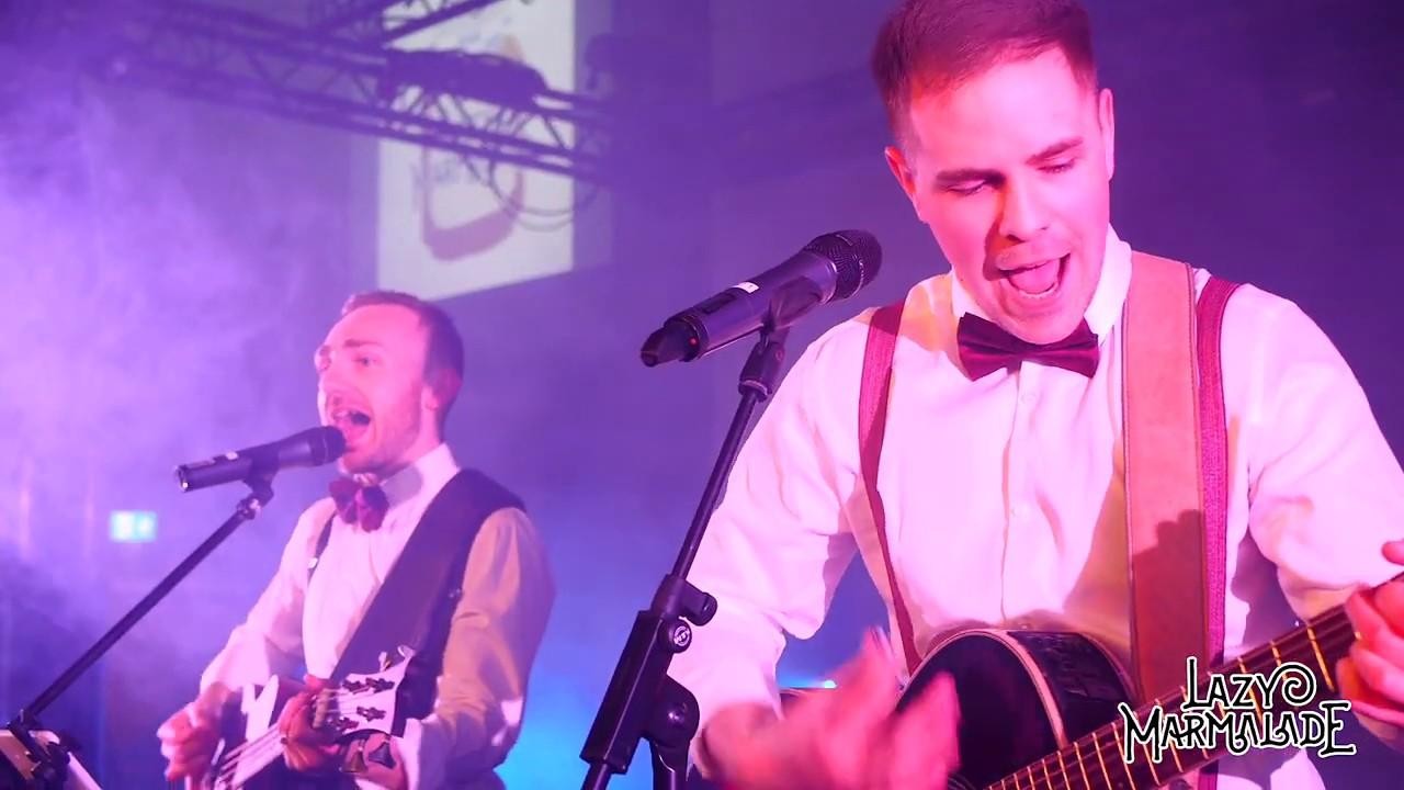 UK Function Band - Lazy Marmalade - Live Promo