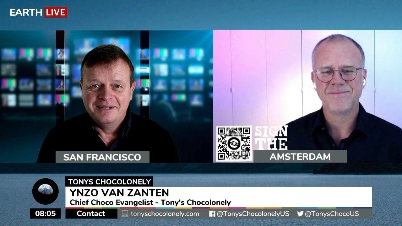 Ynzo Van Zanten, Chief Choco Evangelist, Tonys Chocolonely