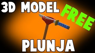 $$ Free $$ 3D Models for Minecraft Fortnite Plunja