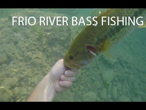 Frio River Texas Bass Fishing! (Part One)