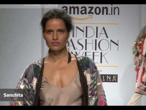 SANCHITA Spring Summer 2017   INDIA Fashion Week by Fashion Channel