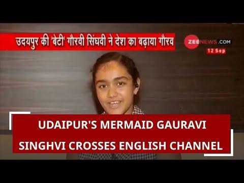 Udaipur's 'mermaid' Gauravi