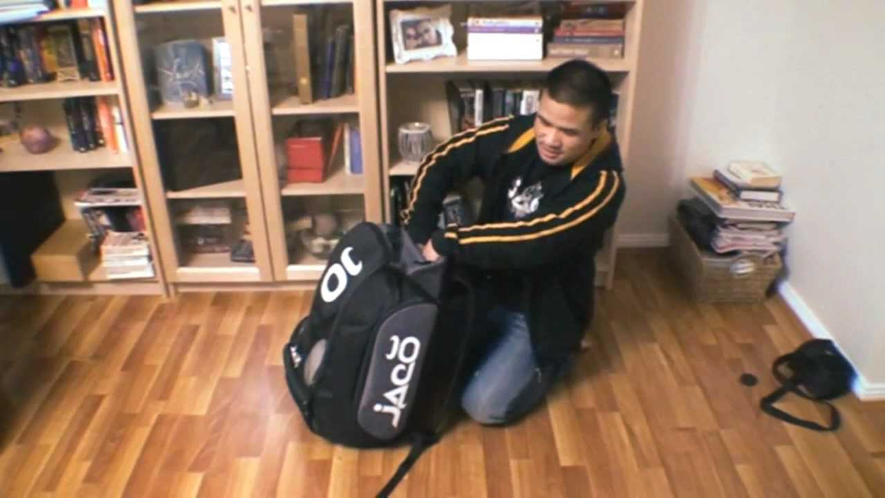b68635dd10 Jaco Gym Training Bag Review - YouTube