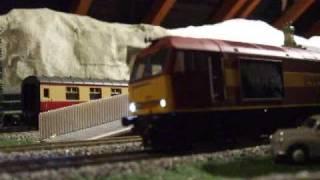 British OO Gauge Model Railway Layout 2009