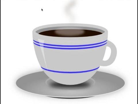 como hacer una taza de cafe en inkscape tutoriales