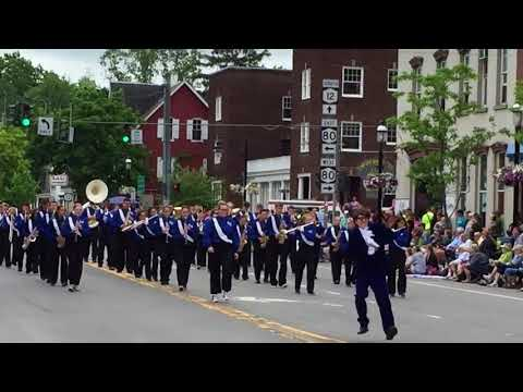 South Kortright Central School at Sherburne Pageant of Bands, 2018