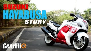 The story of Suzuki Hayabusa - World's favourite Superbike | Hindi | GearFliQ