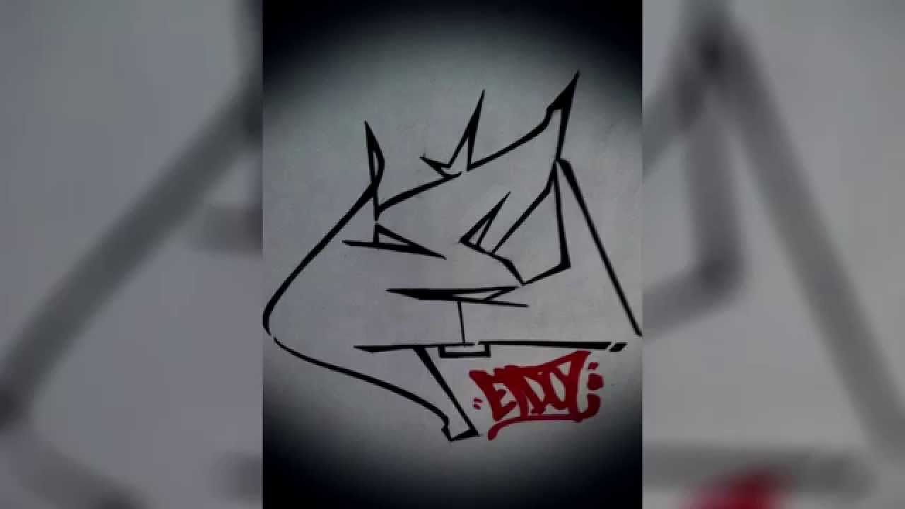 abbastanza Graffiti Tutorial: Draw Letter E In Graffiti Step By Step - YouTube UV97