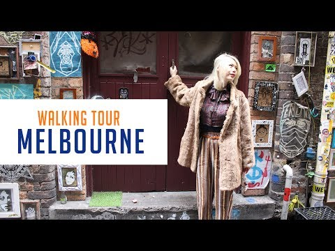 Walking Tour of Melbourne | Top 10 Laneways