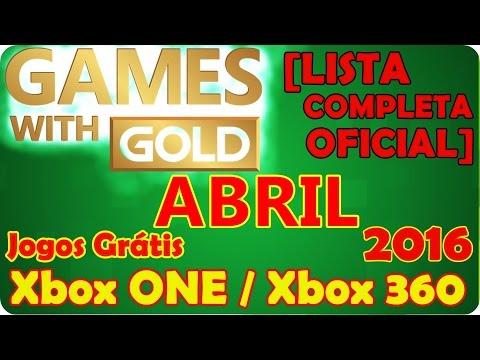 Jogos Gr 193 Tis Na Live Gold Abril 2015 Xbox 360 Xbox One