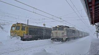 Trenes En Busdongo Con Mucha Nieve 2015