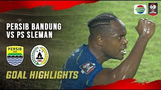 Download lagu Highlights - Persib Bandung vs PS Sleman | Piala Menpora 2021