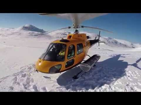 Heli skiing in Sweden with Mountain Guide Travel