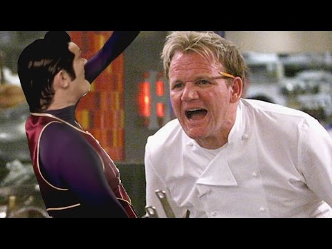 "We are number one but ""we are number one"" is replaced with Gordon Ramsay insults"