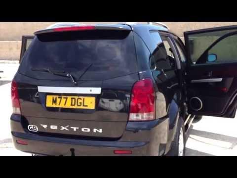 2004 SSANGYONG REXTON RX270 XDI SE 4X4 TURBO DIESEL RHD FOR SALE IN SPAIN