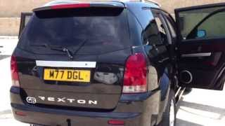 2004 SSANGYONG REXTON RX270 XDI SE 4X4 TURBO DIESEL RHD FOR SALE IN SPAIN