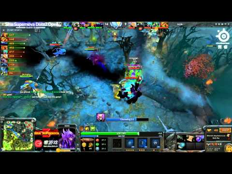 Sina Cup S3 - No8 vs DT game 1
