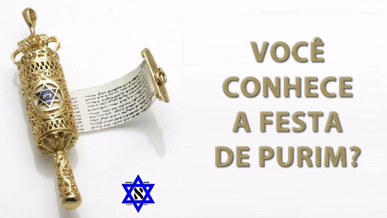 Você conhece a festa de Purim?? Canal Alef