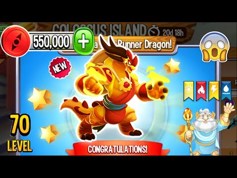 Dragon City: Monk Dragon, plus all Hero Quest Island | Completed 2021 😱