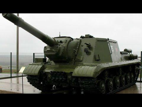 Сборная модель танк ИСУ-152 а масштабе 1:72