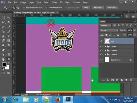 Web Template Part 1 graphics Design 2018