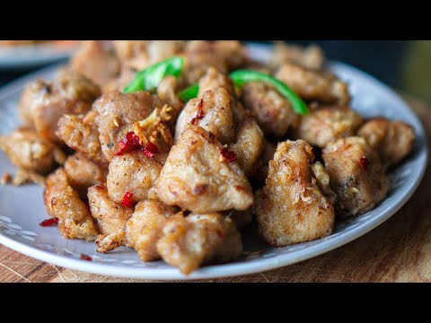 Salt And Pepper Chicken | Quick & Easy | Hungry For Goodies