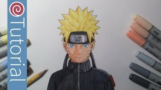 How to Draw Naruto from Naruto Shippuden | Drawing Tutorial