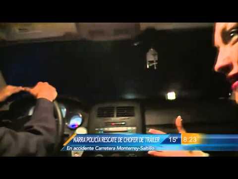 Las Noticias - Oficial de la Policía Federal narra como salvó a trailero